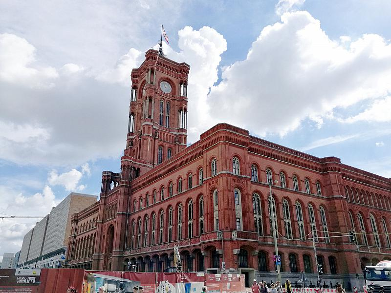 Rotes Rathaus in Berlin,